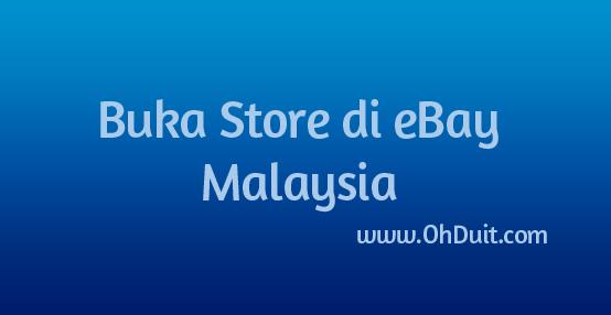 Buka Store di eBay ohduit