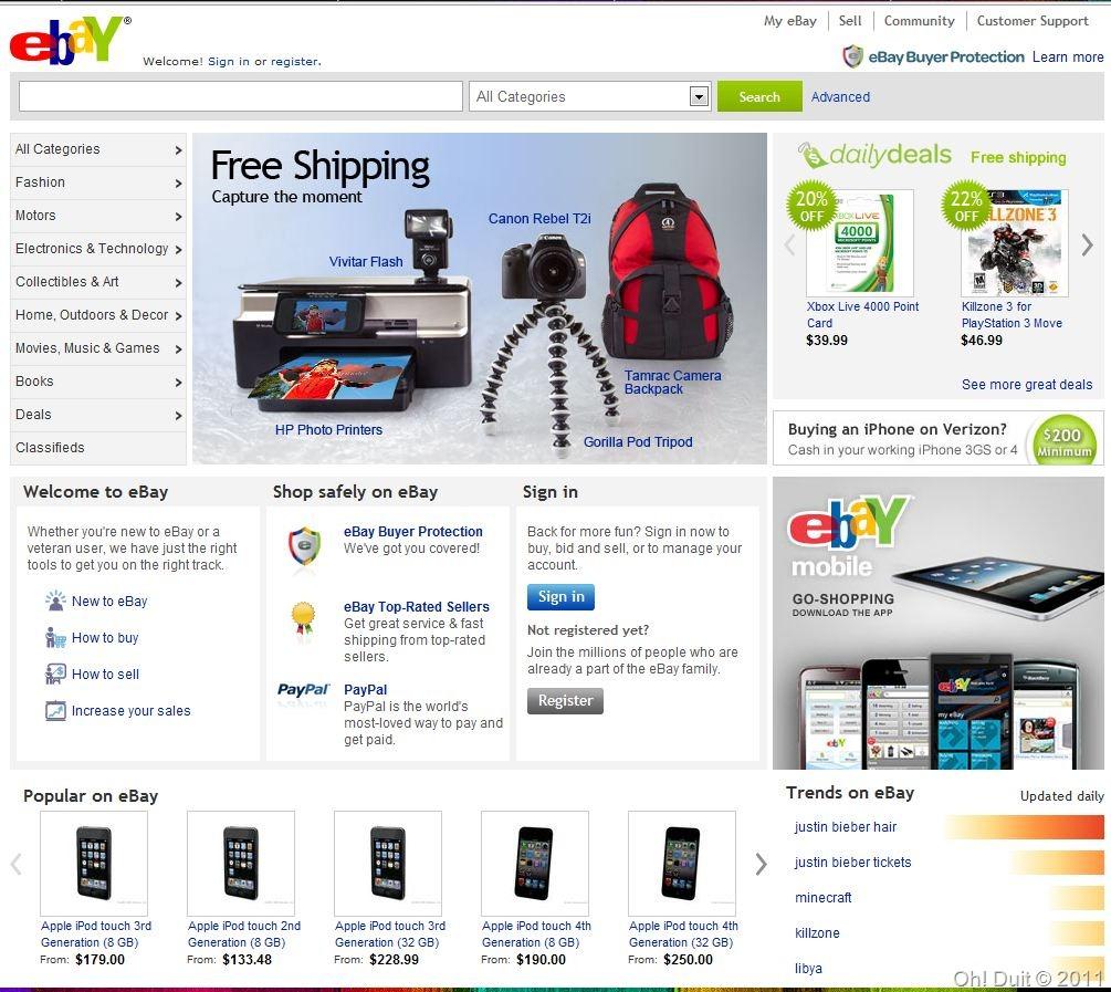 kenapa bisnes eBay